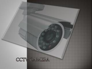 CCTV CAMERA AND FRAMEWORK