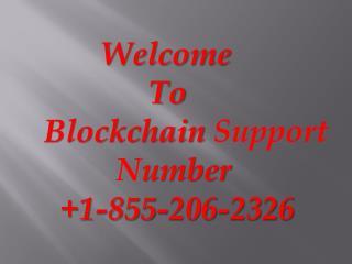Blockchain Customer Support Number