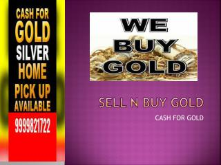 Master The Skills Of Cash For Gold And Be Successful.