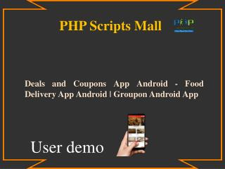 Food Delivery App Android | Groupon Android App