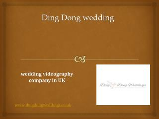 wedding videos in London