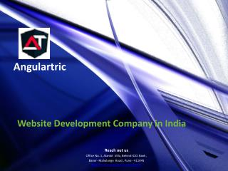 Website Development Company in India - Angulartric