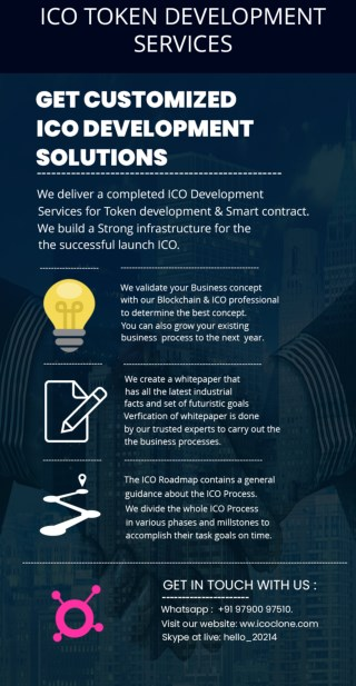How will you choose the right ICO Token development company?