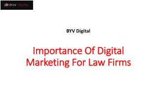 Digital Marketing For Law Firms