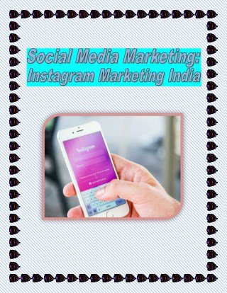Instagram Marketing - Grow Your Brand on Social Media