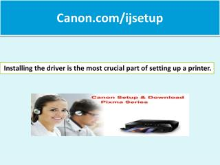 Canon.com/ijsetup, Canon Ijsetup,All in One Printer