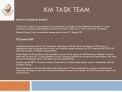 KM Task Team