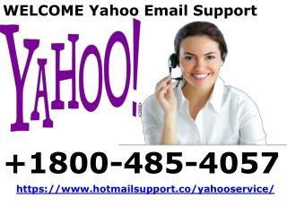 Yahoo Customer Service 1800-485-4057 For Yahoo Support