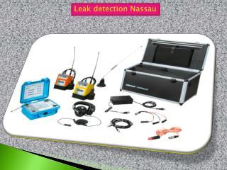 Leak detection Nassau