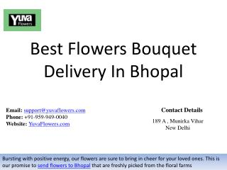 Best Flowers Bouquet Delivery In Bhopal