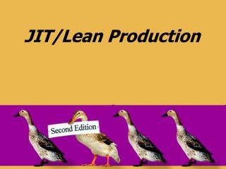 JIT/Lean Production
