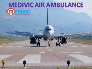 Medivic Air and Train Ambulance Services in Delhi with Medical Team