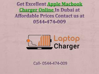 Get Excellent Apple Macbook Charger Online In Dubai at Affordable Prices Contact us at 0544-474-009
