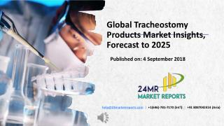 Global Tracheostomy Products Market Insights, Forecast to 2025