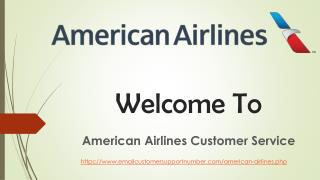 Know About the American Airlines Customer Service
