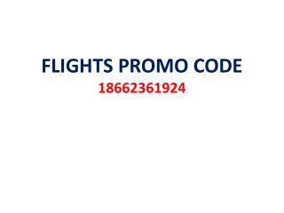 Airline Promo Offers and Services