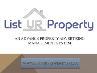 Property management system | List your Properties for sale & rent