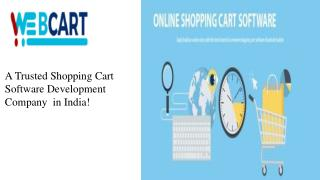 E-commerce Solutions- You Get an Online Shopping Cart within Lowest Cost!