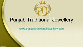 Punjabi Bridal Jewellery