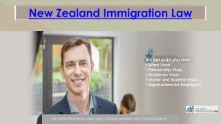 New Zealand IMMIGRATION LAW