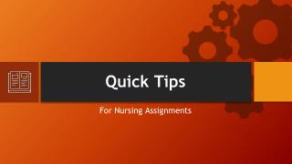 Nursing Assignment Sample
