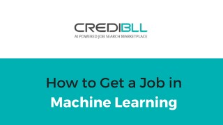 How to get a Job in Machine Learning