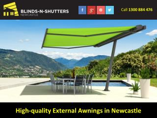 High-quality External Awnings in Newcastle