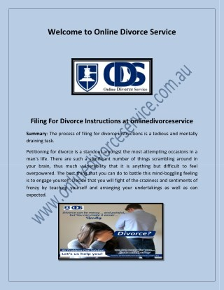 how to get divorce papers, low cost divorce, file for divorce online - onlinedivorceservice