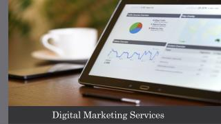 The Role of Digital Marketing Services in Today's Market