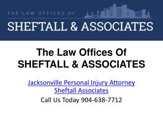 Jacksonville Personal Injury Attorney Sheftall Associates
