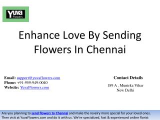 Enhance Love By Sending Flowers In Chennai
