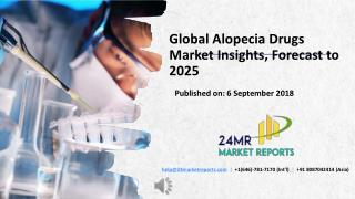 Global Alopecia Drugs Market Insights, Forecast to 2025