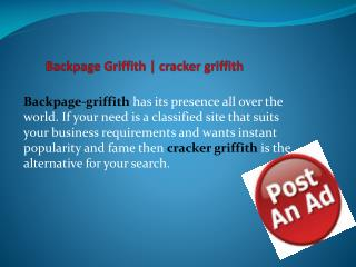 Backpage Griffith | cracker griffith