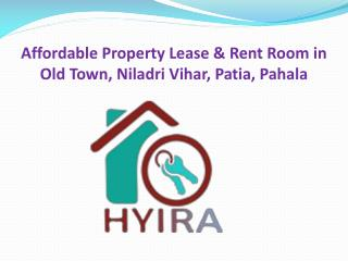 Affordable Property Lease & Rent Room in Old Town, Niladri Vihar, Patia, Pahala
