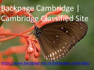 Backpage Cambridge   Cambridge Classified Site