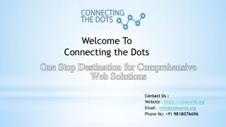 Connecting the Dots | Digital Marketing, Web Development Company