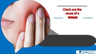 Check Out the Causes of a Toothache
