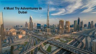 Top 4 Must Try Adventurous Things To Do in Dubai | Hot Air Balloon Festivals in Dubai