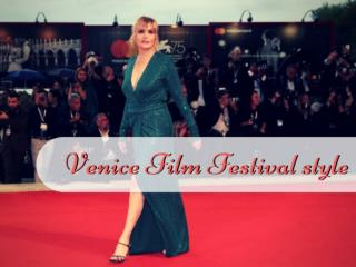 Venice Film Festival style