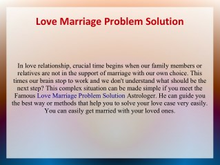 Husband Wife Relationship Problem Solution by Specialist