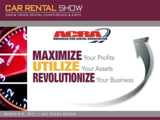 American Car Rental Association Sharon Faulkner Executive Director