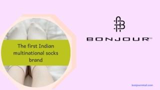 Buy Socks Online At Affordable Price - Bonjour Retail