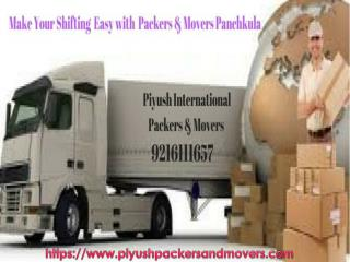 Best Movers Packers in Panchkula |Piyush International Packers And Movers
