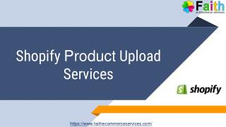 Shopify Product Data Entry Services in India