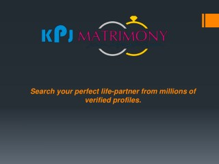Yadava Matrimony in Tamilnadu - KPJ Matrimony