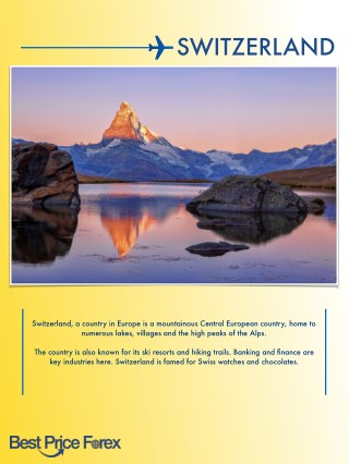 Best of Switzerland in this Free Travel Guide