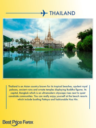 Thailand Travel Tips Free Guide