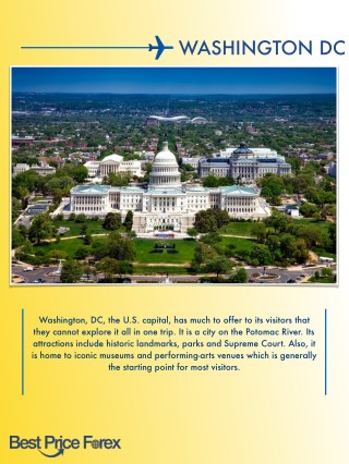 You Will Thank Us - Travel Tips About Washington DC You Need To Know