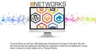 Web Application Development Company in Mumbai