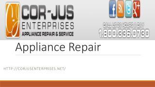 Appliance Repair In New York